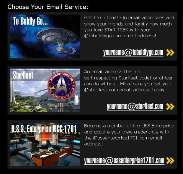 star trek email